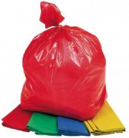 Coloured Refuse Sacks Bags Red Green Yellow Blue White
